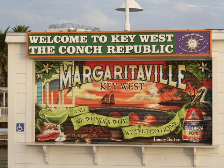 Pancarte à Key West