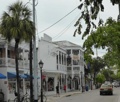 Une rue de Floride