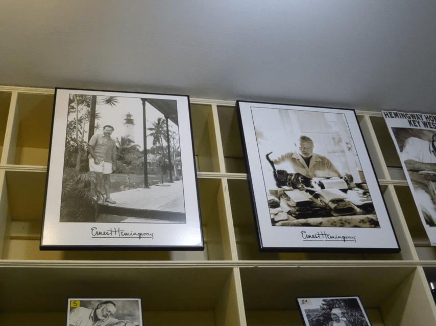 Visite de la maison de Hemingway Ernest