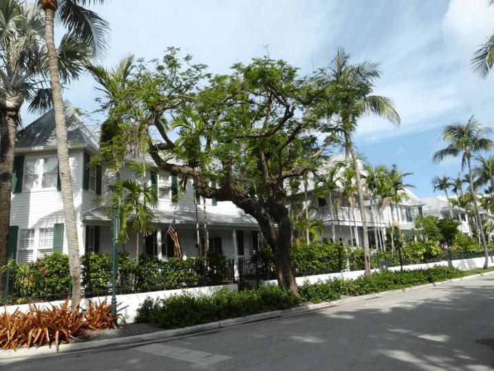 The little white house connue en Floride