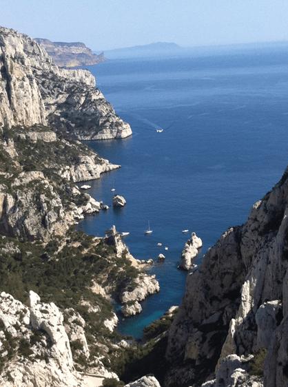 Le parc national des Calanques protège les criques à Marseille