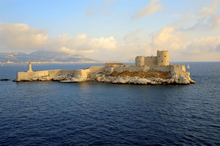 Le célèbre château d'if