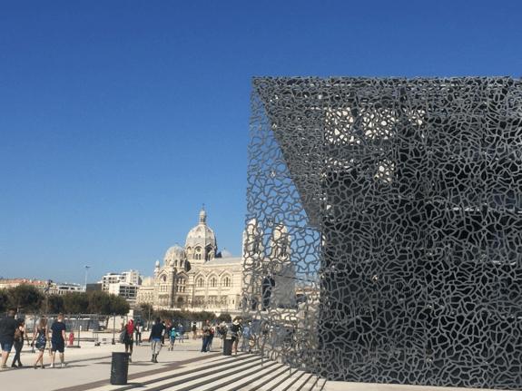 Le centre ville de Marseille