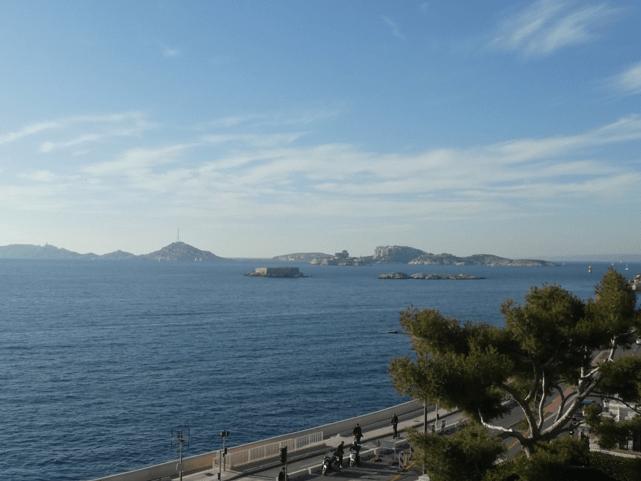 Le eau littoral de Marseille