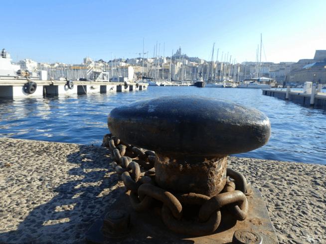 Magnifique port de Marseille