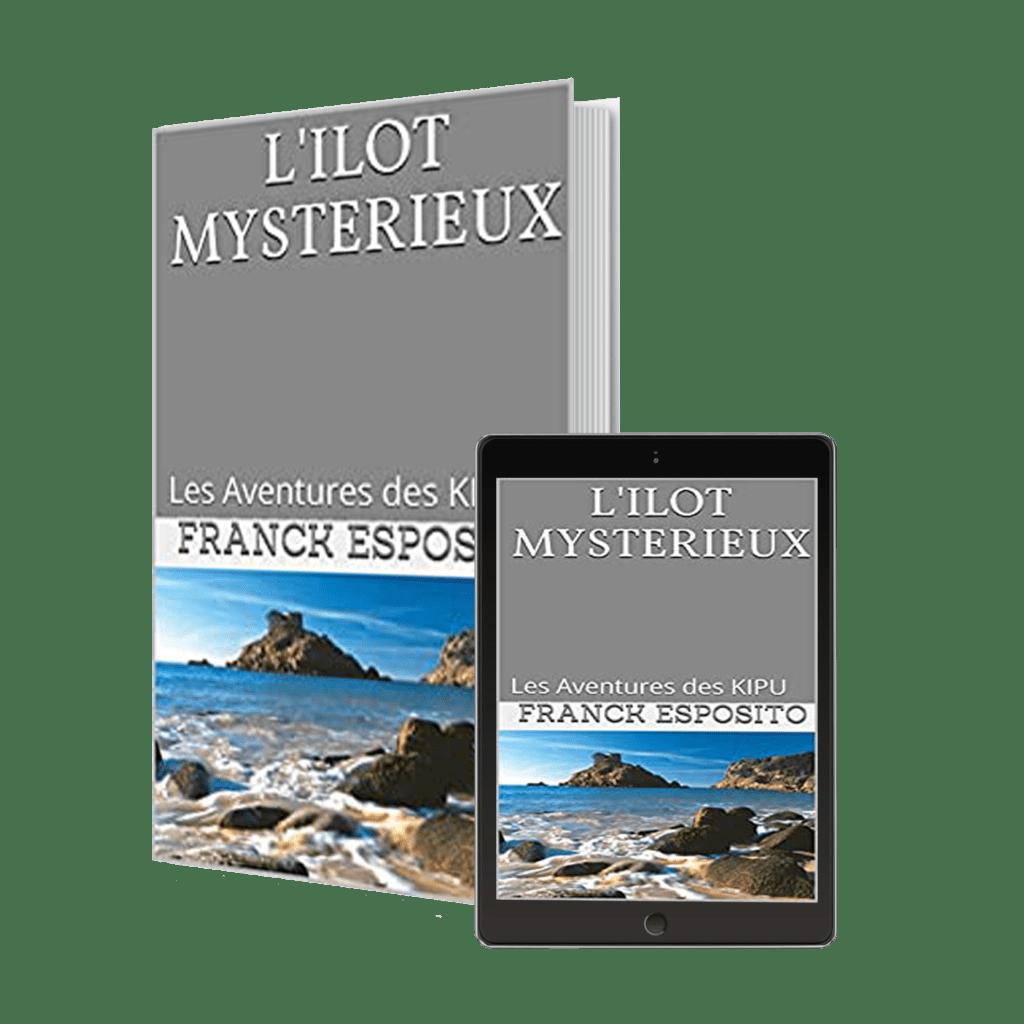 Livre pour enfant de Franck Esposito L'ilot mystérieux