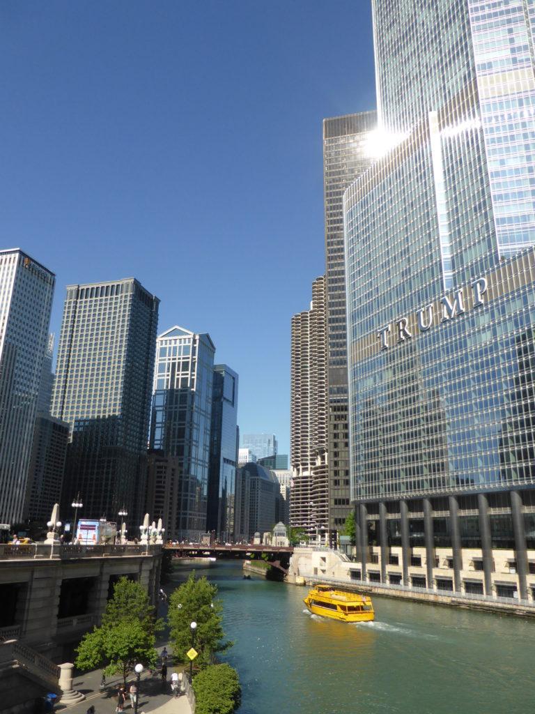 Balade et visite des buildings de Chicago