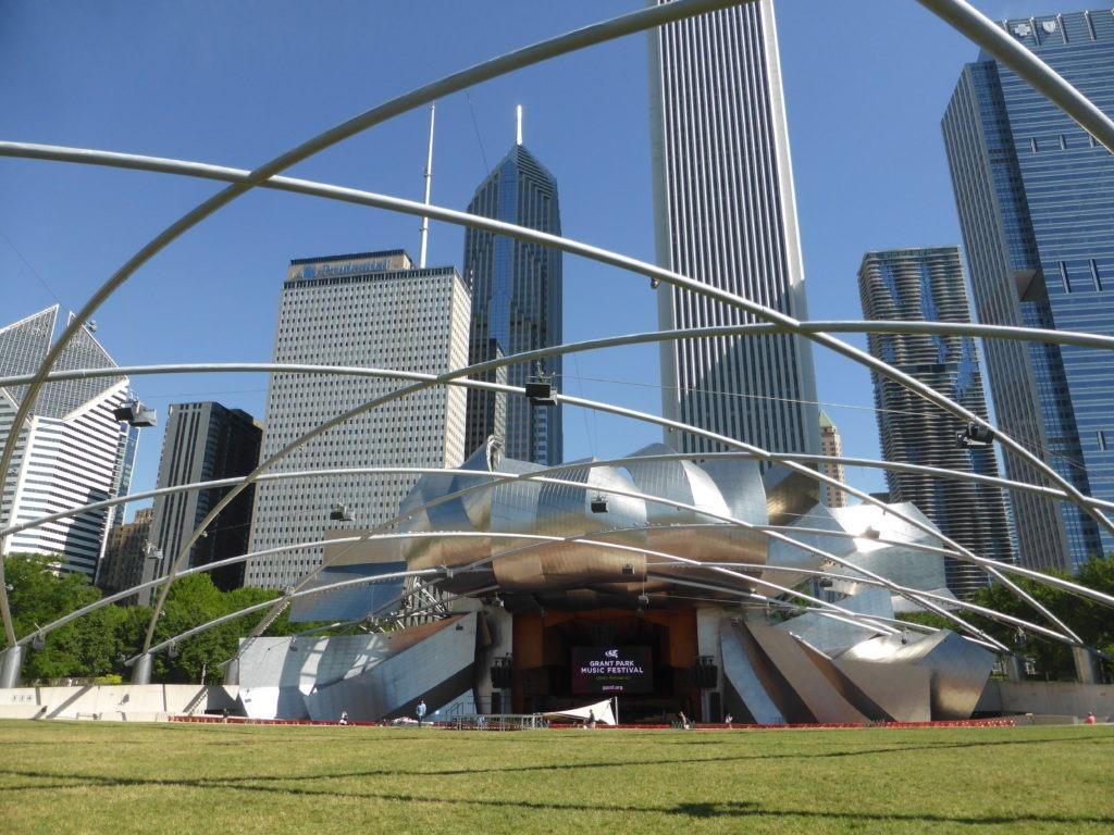 Cloud Gate d'Anish Kapoon à Chicago