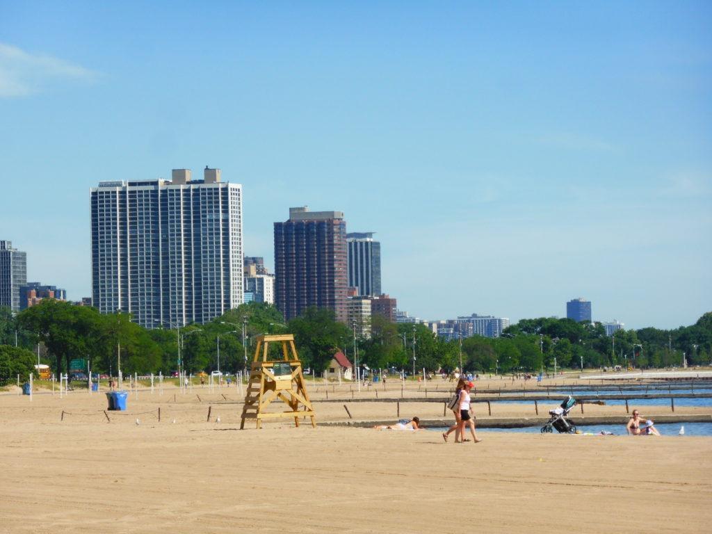 Une plage à chicago