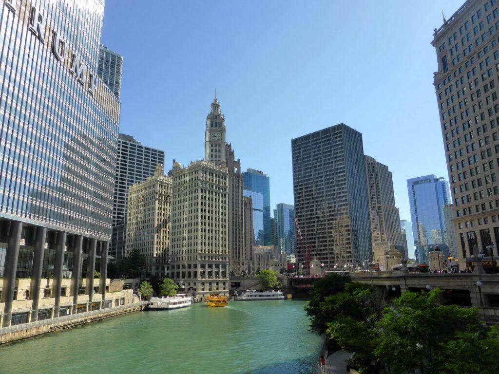 Photo de la rivière de Chicago