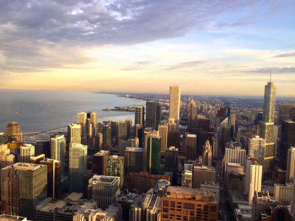 Magnifique vue depuis la Willis Tower
